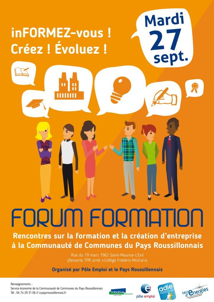 forum formation 27 septembre 2016