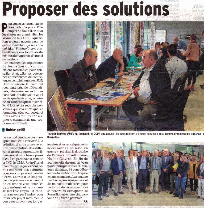 Crea-plus propose des solutions