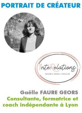 Gaëlle Faure-Geors, coach en insertion professionnelle