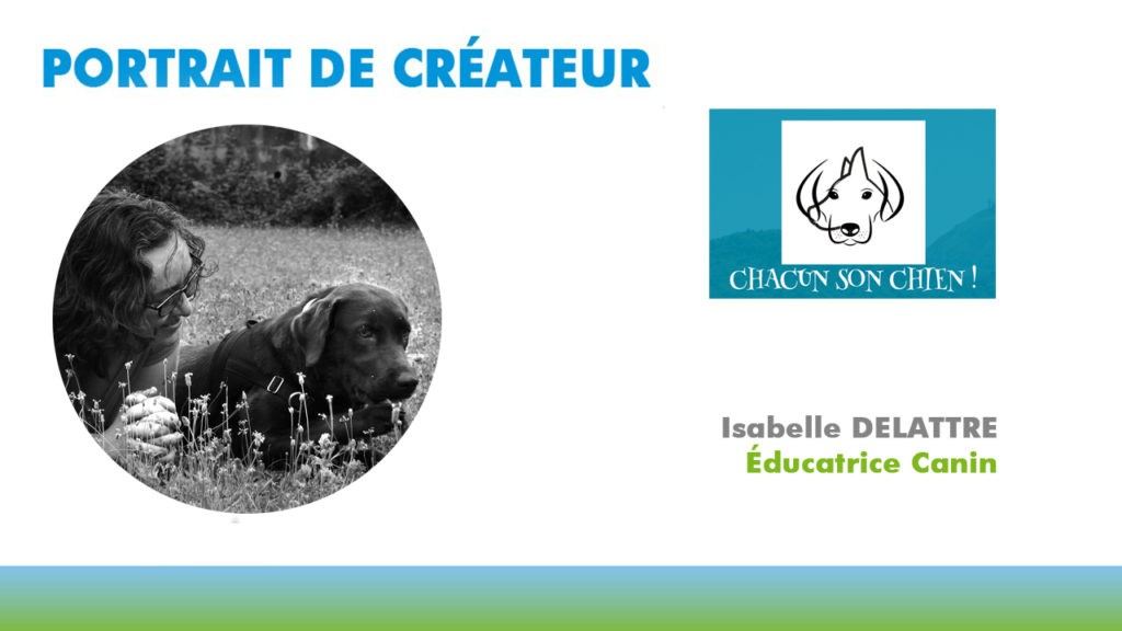 Isabelle DELATTRE, Educatrice Canin